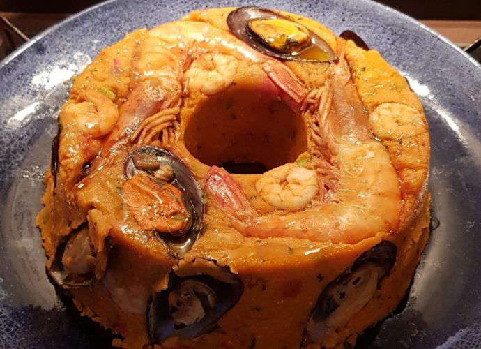 Cuscuz Paulista de Frutos do mar